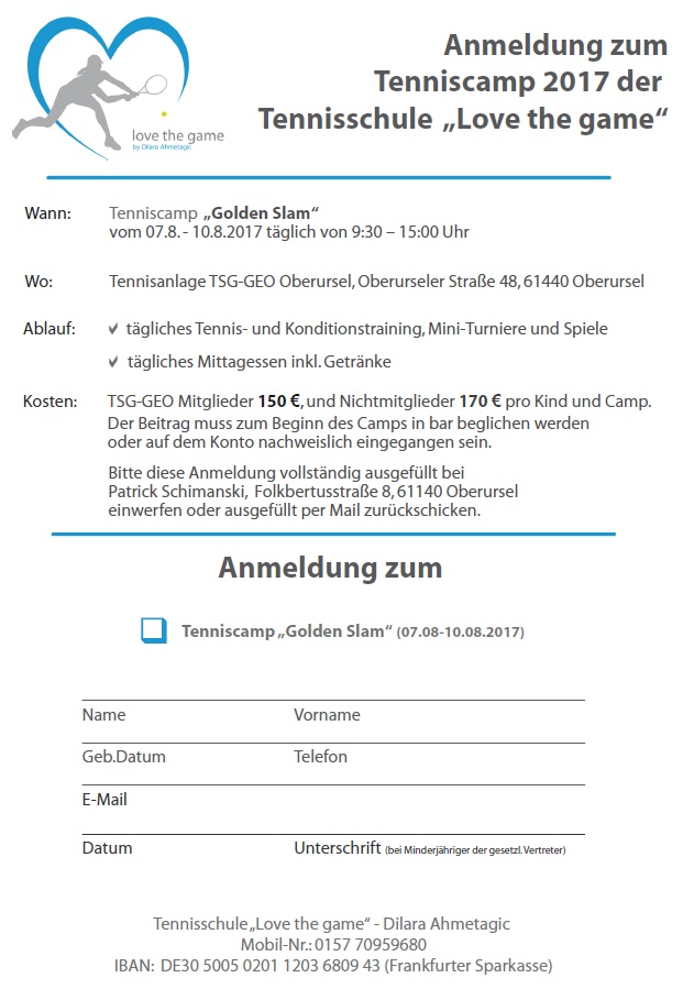 Tenniscamp 2017 neu